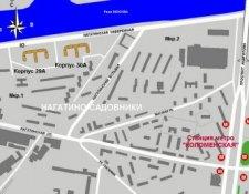 ЖК «Нагатино-Садовники» жилой комплекс, мкр. 1, корп. 30А (Нагатинская наб., 10к2)