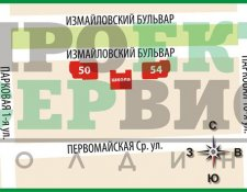 ЖК «Хозяин Измайлова» жилой комплекс, Измайловский б-р, вл. 50, 54