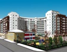 ЖК «Green Fort (Грин Форт)» жилой комплекс, Суворовская вл.10-12, к. 1