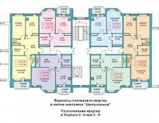ЖК «Центральный» жилой комплекс, Лобня, ул. Ленина, 23 (строит. адрес: корп. 12, корп. 13)