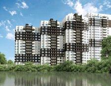 ЖК «Одинцовский Парк» жилой комплекс, 8 км от МКАД по Минскому шоссе, на южной окраине г. Одинцово
