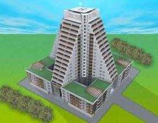 ЖК «Пирамида» жилой комплекс, ул. Дмитрия Ульянова, вл. 31