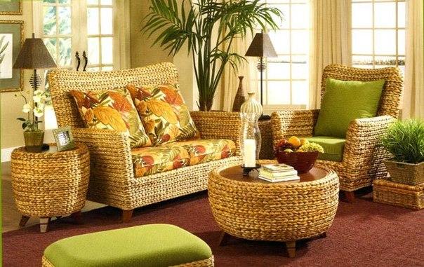 Технологии производства плетеной мебели из ротанга