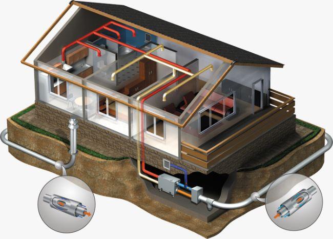 Система вентиляции дома: особенности устройства
