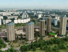 ЖК «Янтарный город» жилой комплекс, корп. 2, Строгино, ул. Маршала Катукова, 24, корп. 1